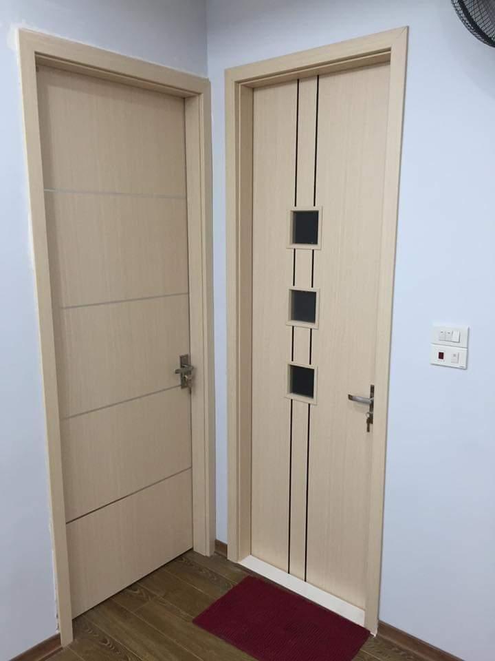 Mẫu ảnh cửa gỗ MDF laminate