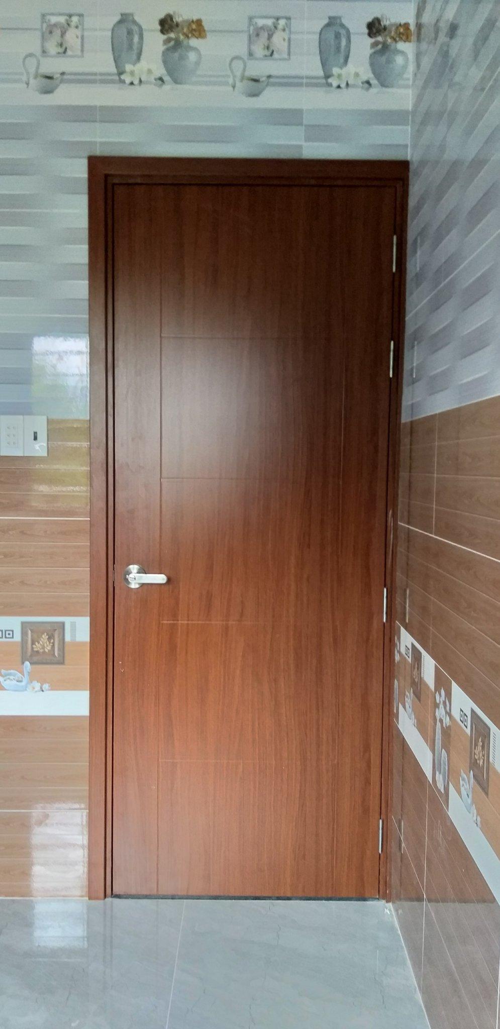 Cửa nhựa gỗ composite đẹp tại Bình Thuận