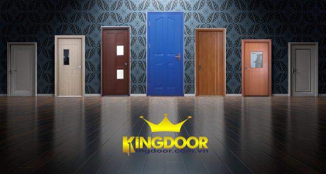 Cửa nhựa - cửa gỗ - cửa chống cháy Kingdoor