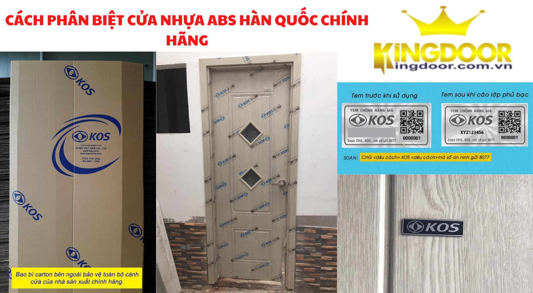 Báo giá cửa nhựa Abs Hàn Quốc mới nhất 2021 tại Nha Trang