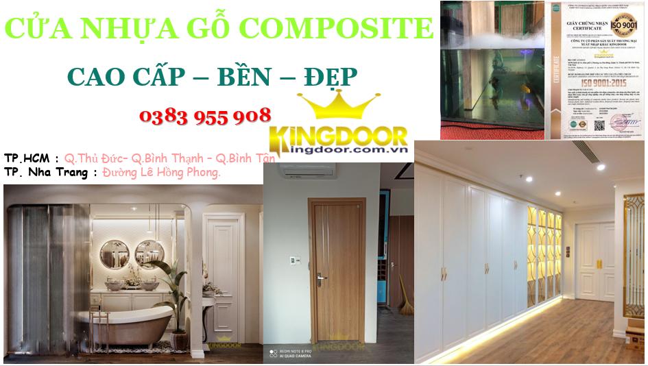 giá cửa nhựa gỗ composite tại quy nhơn
